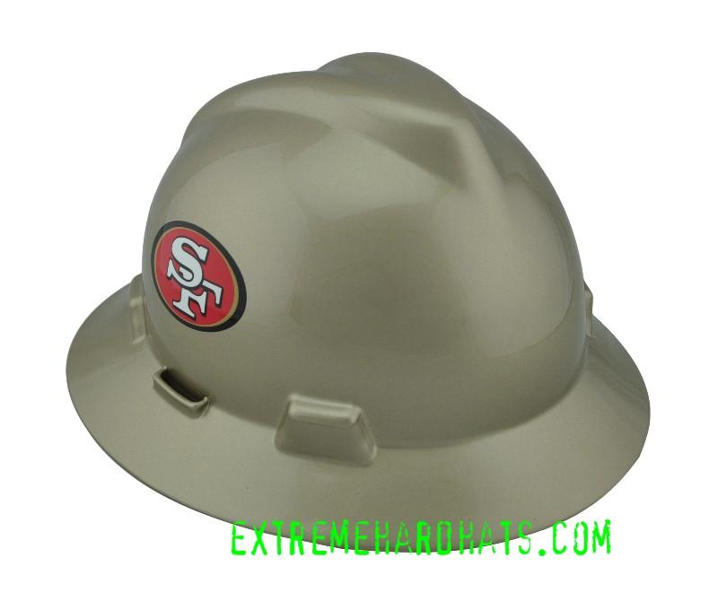643c6fd15 San Francisco 49ers NFL Cool Custom Team Hard Hat Oilfield