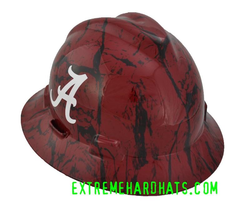 Alabama Roll Tide College Cool Custom Team Hard Hat Oilfield
