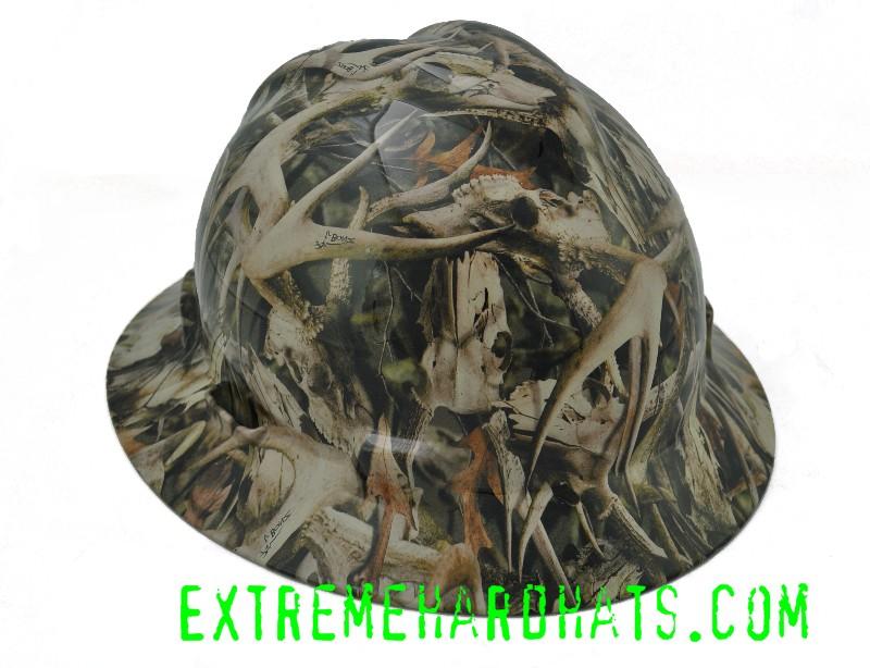 Next Camo Bonz Buck Skulls Camo Camoflauge Hard Hat Oilfield