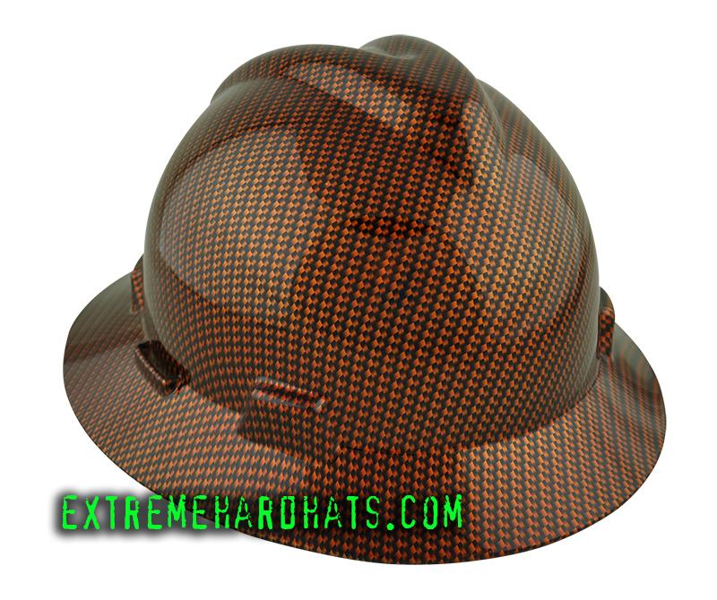 Hardhat Msa Vgard Carbon Fiber Hard Hat Oilfield Construction