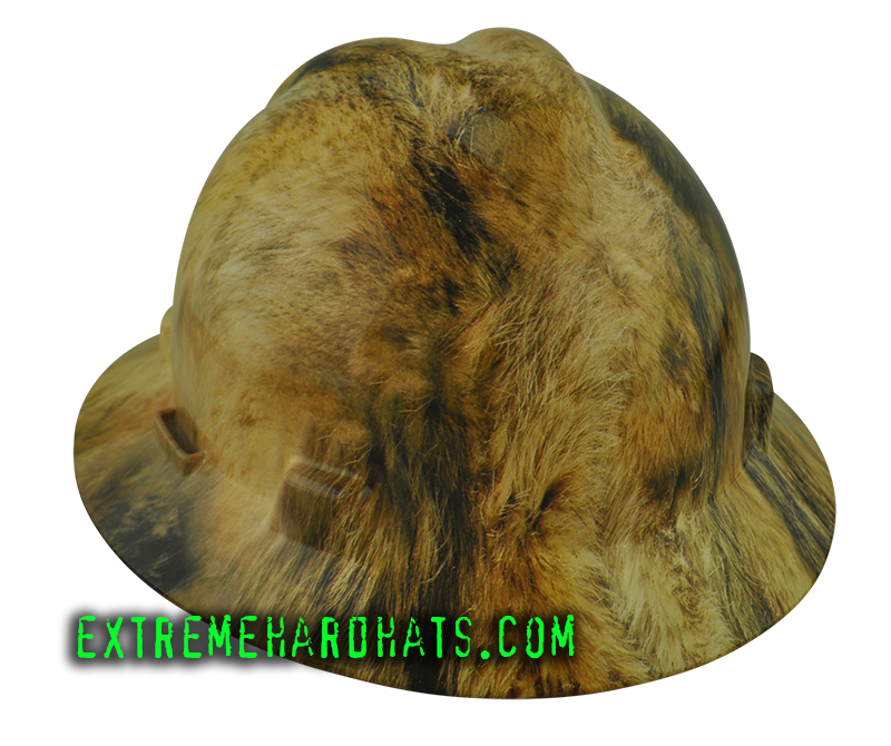 Coyote Fur Hunting Wolf Animal Dog Extreme Hard Hat Oilfield ... 3f8f3ee7c94