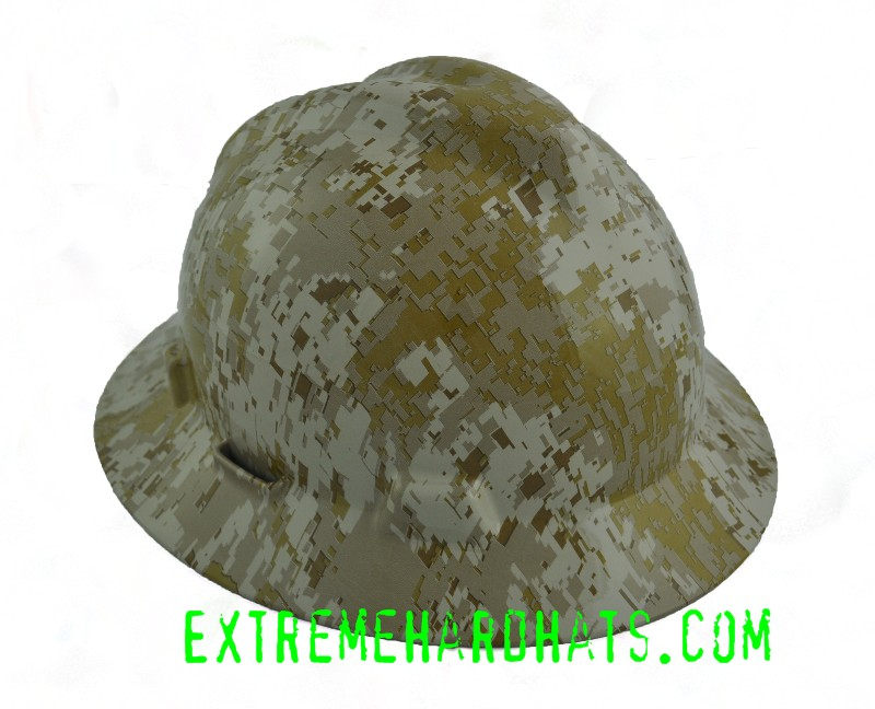 a0c9ddb910a Desert Digital Military Camo Camoflauge Hard Hat Oilfield