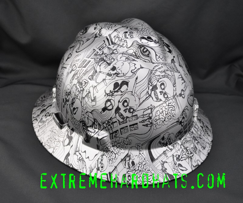 Skull Hard Hats Cool Skulls Cool Hard Hat