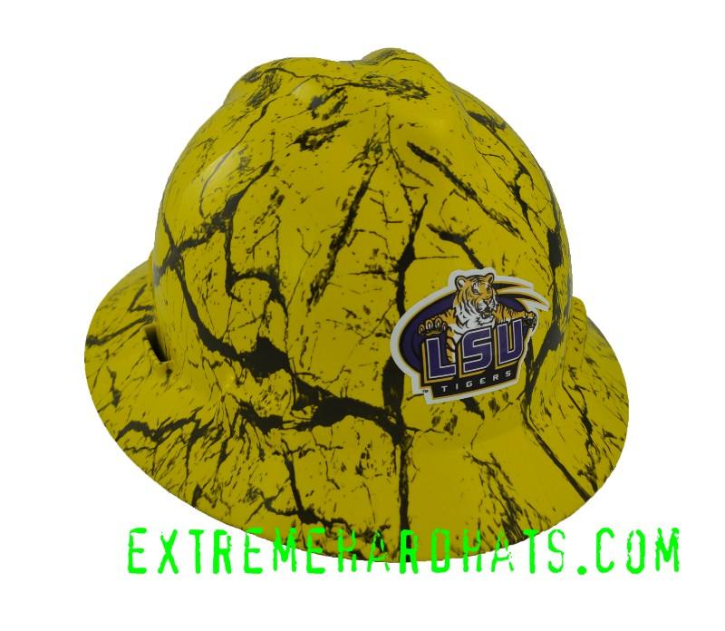 d8244be778479d LSU Tigers College Team Football Baseball Hard Hat Oilfield