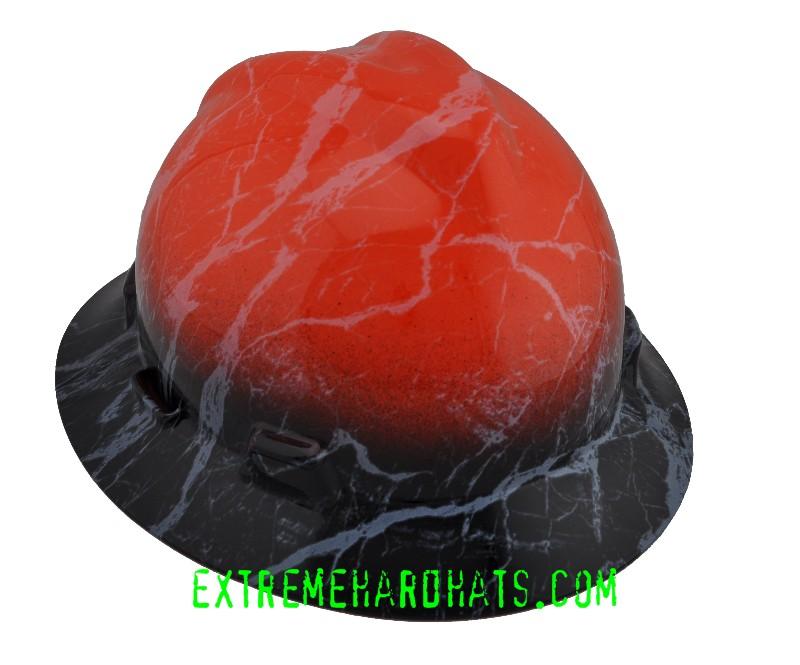 a9a27989236f81 Cool Harley Orange Black Hard Hat Oilfield Construction