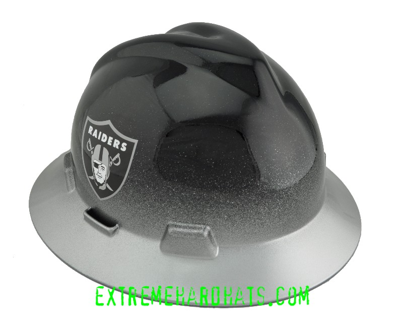3ba5da800ee Oakland Raiders NFL Cool Custom Team Hard Hat Oilfield