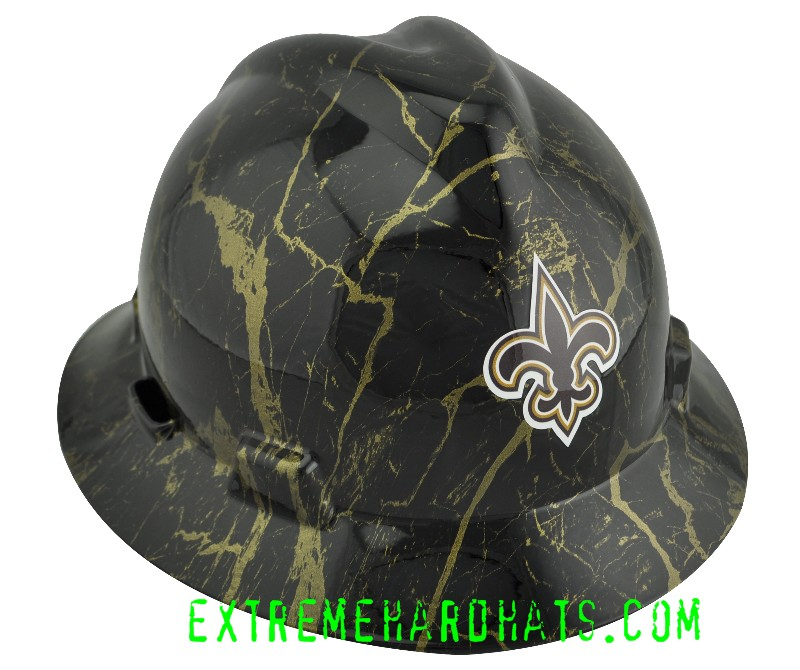 d43d2a649e9 New Orleans Saints Football Professional MSA Hard Hat Oilfield
