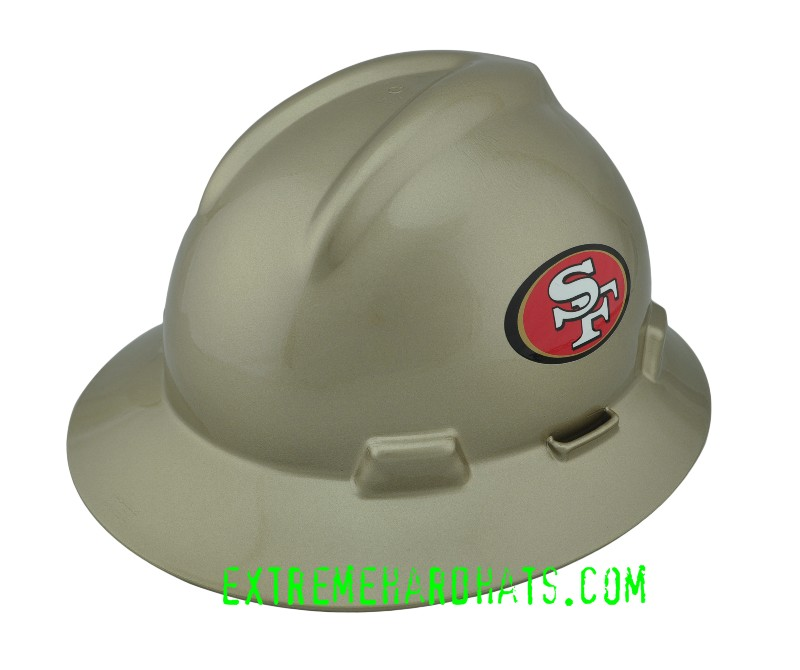 San Francisco 49ers Nfl Cool Custom Team Hard Hat Oilfield