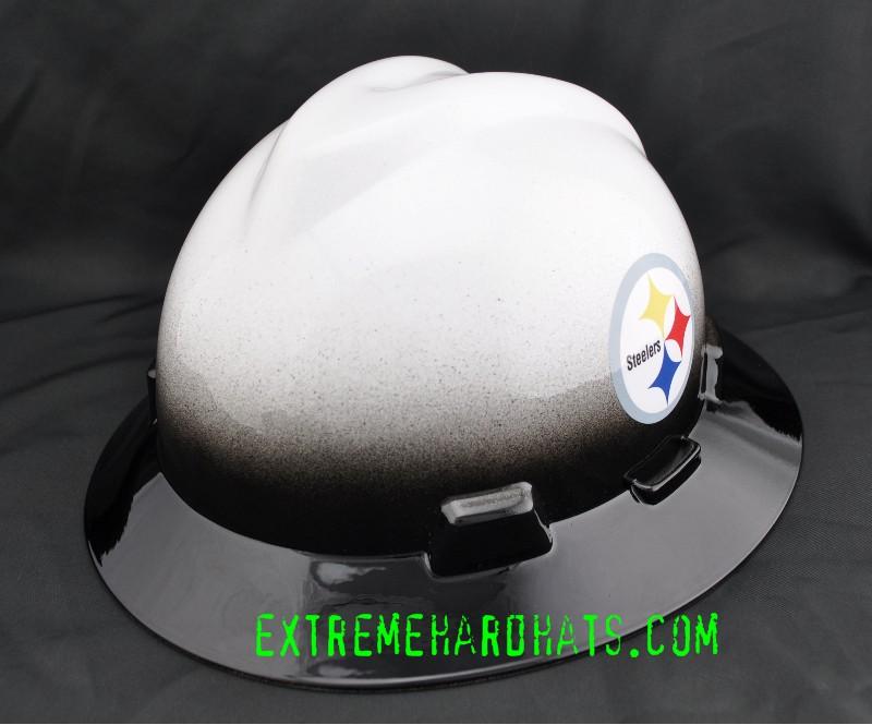 Pittsburgh Steelers Nfl Cool Custom Team Hard Hat Oilfield