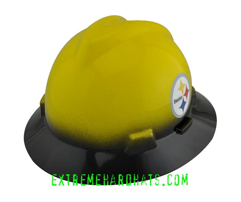 d4774d100 Pittsburgh Steelers NFL Cool Custom Team Hard Hat Oilfield