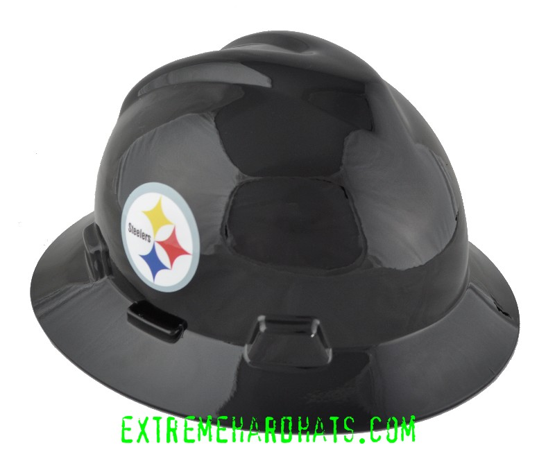fb39f804c Pittsburgh Steelers NFL Cool Custom Team Hard Hat Oilfield