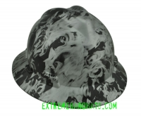 Extreme Hardhats Snow Digital Military  Camo Hard Hat