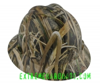 Extreme Hardhats Mossy Oak Shadowgrass White Hard Hat