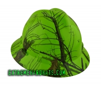 Extreme Hardhats Mossy Oak Winter Blaze White Hard Hat