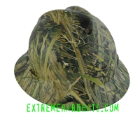 Extreme Hardhats Mothwing Marsh Mimicry Camo Hard Hat
