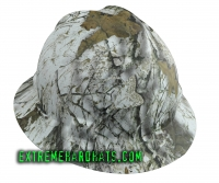 Extreme Hardhats Mothwing Winter Mimicry Camo Hard Hat