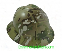 Extreme Hardhats Multicam Military  Camo Hard Hat