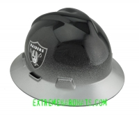 Extreme Hardhats NFL Oakland Raiders Two Tone Hard Hat