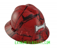 Extreme Hardhats Arkansas College BCS Razorbacks Hard Hat