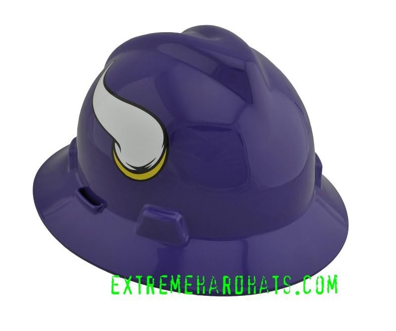 9944e96a2 Minnesota Vikings NFL Cool Custom Team Hard Hat Oilfield